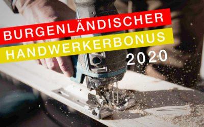 Burgenländische Handwerkerbonus 2020